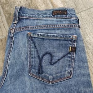 Citizens of Humanity low wIst boot cut jean